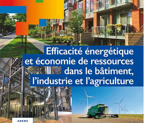 APPEL A PROJETS lancé par l'ADEME dans le domaine de l'efficacité énergétique et l'économie de ressources