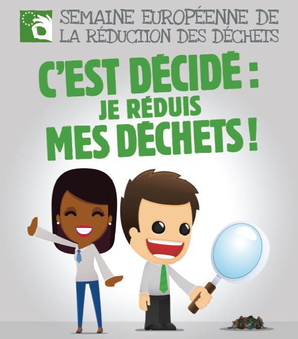 Semaine Européenne de réduction des déchets : le Centre Mosellan se mobilise