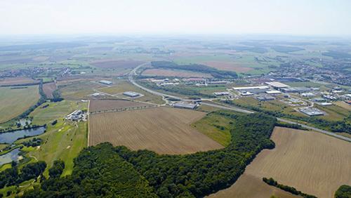 Le parc industriel de Faulquemont