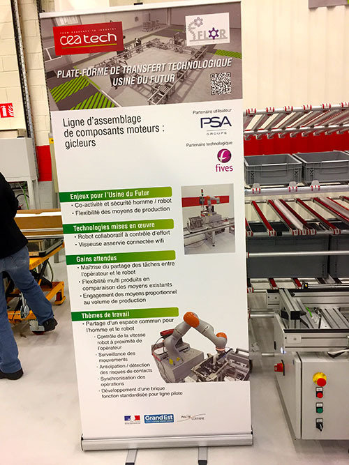 La plateforme CEA Tech FFLOR (Future Factory @ Lorraine) inaugurée