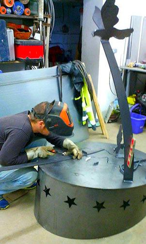 A Rettel, le travail de l'acier devient tout un art
