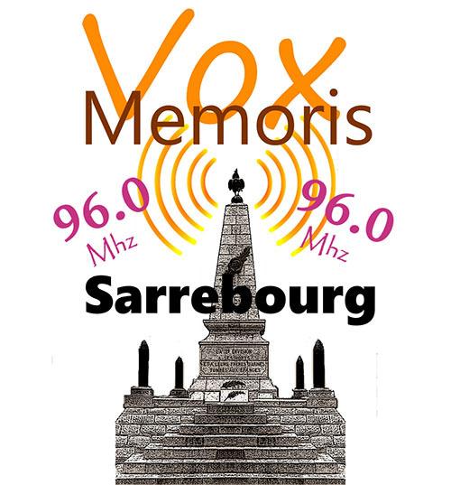 Une innovation touristique à Sarrebourg : VOX MEMORIS, la radio des sites de mémoire de la 1ère guerre mondiale