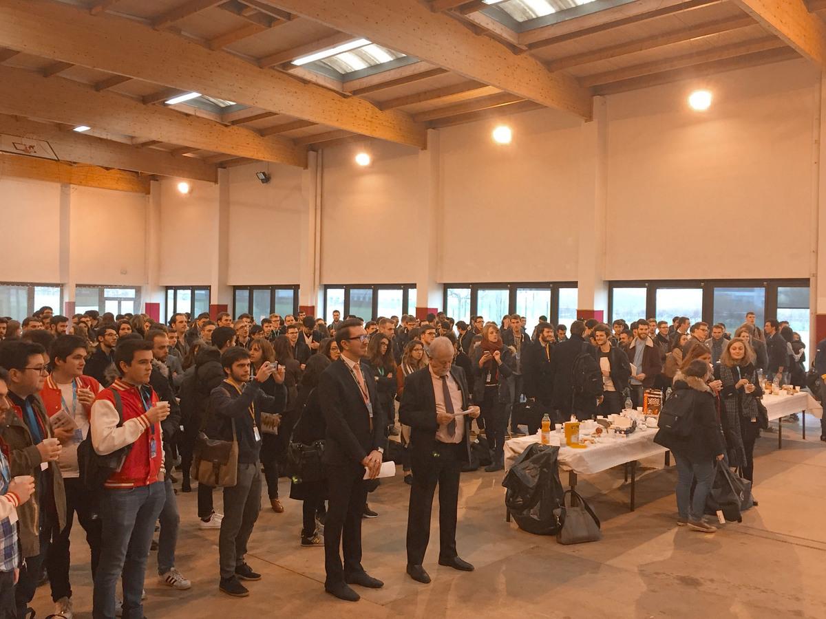 Plus de 400 étudiants présents à CentraleSupélec, au Congrès des Juniors Entreprises