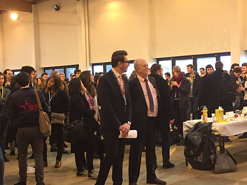 M.François LAVERGNE et M. Maxime KOROMYSLOV, Directeur du Programme ICN MSc Luxe et Design Management à ICN Business School Nancy
