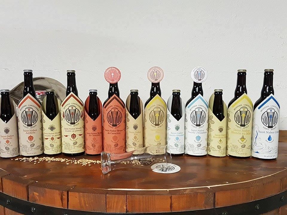 « la Saint-Nabor », une bière artisanale, brassée à la main à Saint-Avold