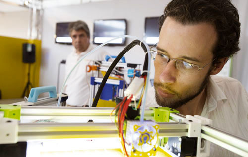 OPEN EDGE à Dieuze, à la pointe de l'imprimante 3D