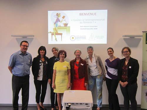 A l'Eurodev Center, petit-déjeuner économique sur l'entrepreneuriat féminin