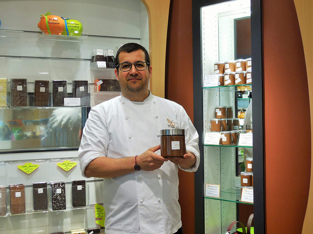 L'univers chocolaté de Fabrice Dumay