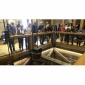 Dieuze : le puits salé achevé et inauguré fait revivre le passé