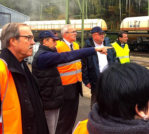 Visites de territoires : rencontre de l'entreprise LORMAFER à Creutzwald