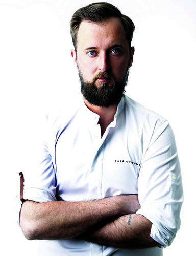Loïc Villemin, chef du restaurant Toya