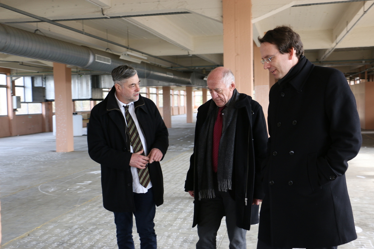 L'association La Chaussure Bataville reçoit l'Ambassadeur de la République Tchèque en France