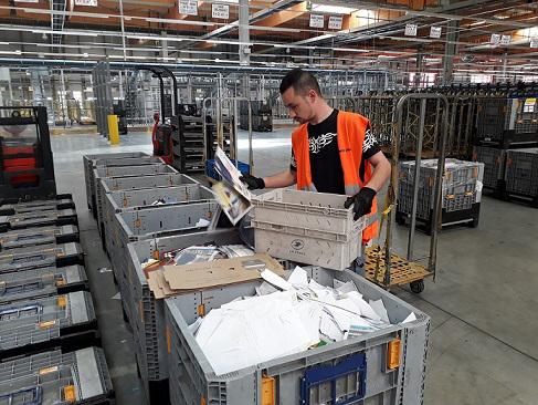 La plateforme industrielle courrier Lorraine élargit ses compétences pour faire face à la baisse du courrier