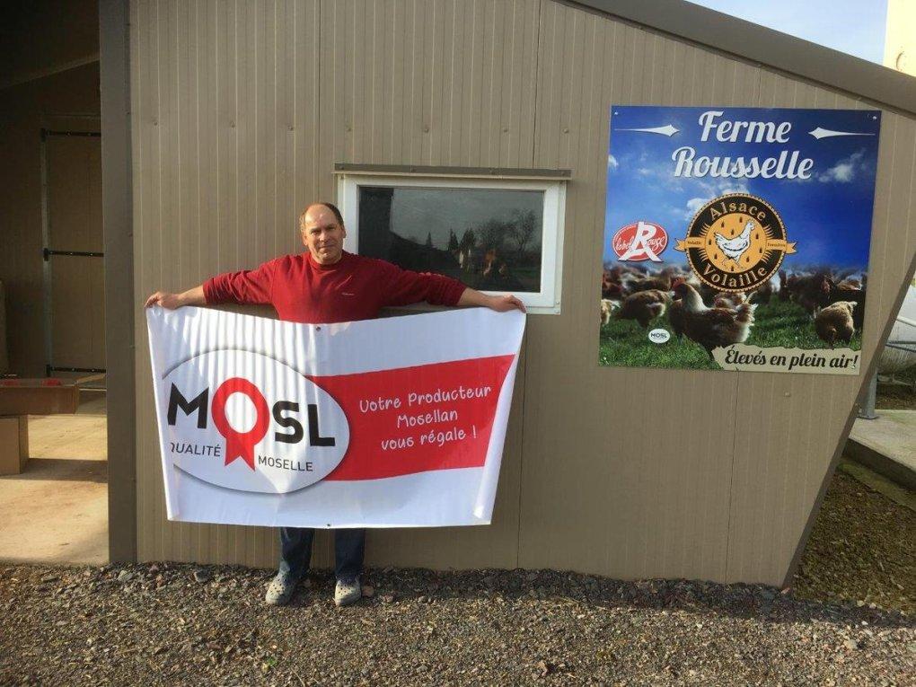 Commercialisation des premiers poulets Label Rouge #qualitéMOSL