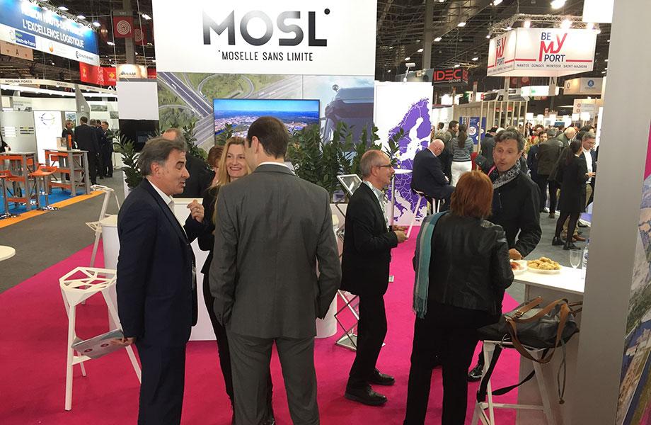 Stand de Moselle Attractivité au SITL 2019