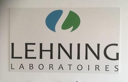 Laboratoires Lehning Sainte-Barbe