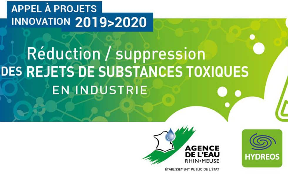 Appel à projet Innovation Réduction/Suppression de rejets de substances toxiques