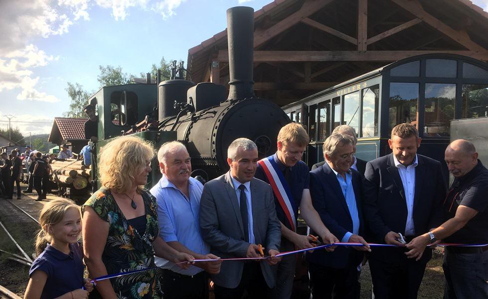 50 ans Train touristique Abreschviller