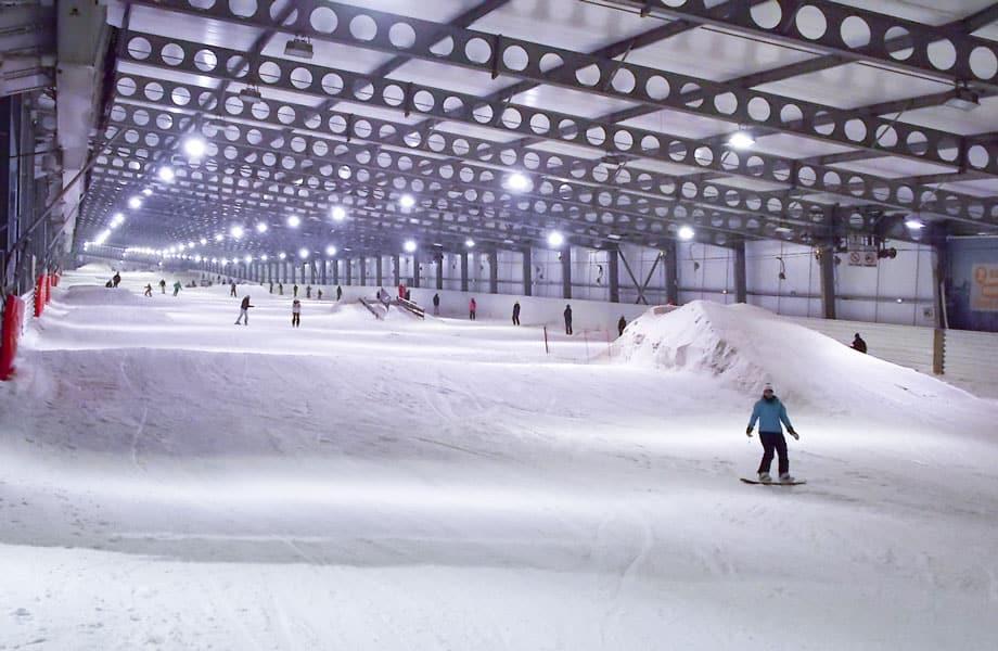 Snowhall d'Amnéville Crédit Snowhall