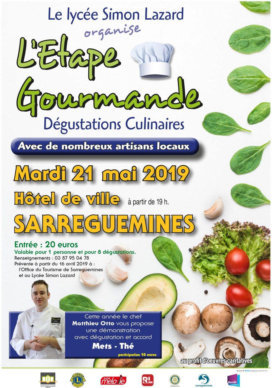Affiche Etape gourmande à Sarreguemines